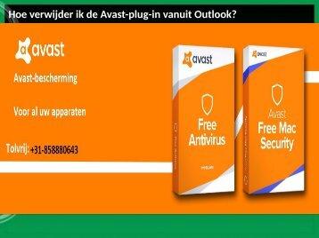 Hoe verwijder ik de Avast-plug-in vanuit Outlook