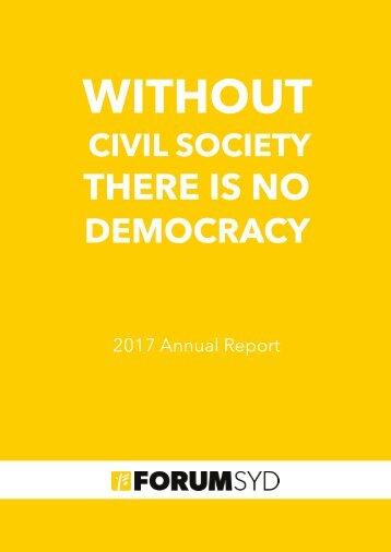 Forum Syd Annual Report 2017