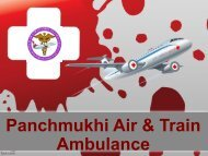 Reliable Air Ambulance Service in Patna with Advanced Medical Tool