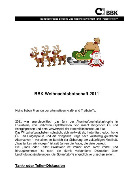 Weihnachtsmail 2011 22.12.11_1.pdf - Bundesverband Biogene ...