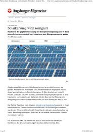 Photovoltaik_ Solarkürzung wird korrigiert-Augsburger