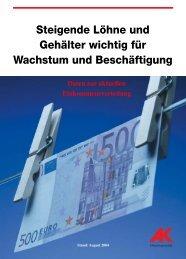 Einkommensverteilung - Arbeiterkammer Oberösterreich