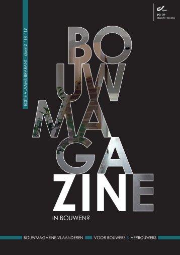 BouwMagazine Vlaams-Brabant - deel 2 - 2018-2019-LR