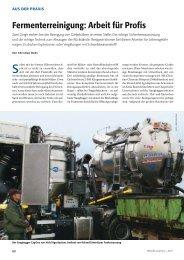 Fermenterreinigung: Arbeit für Profis - Fachverband Biogas e.V.