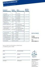 BESTELLFORMULAR - Fachverband Biogas e.V.