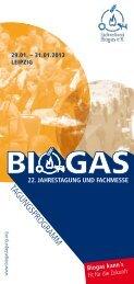 Download Tagungsprogramm - Biogas