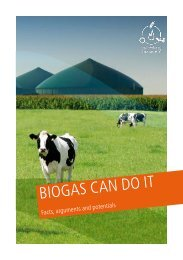 BIOGAS CAN DO IT - Fachverband Biogas e.V.