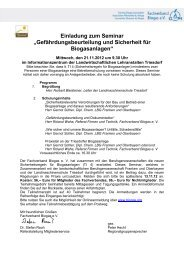 Einladung zum Seminar - Fachverband Biogas e.V.