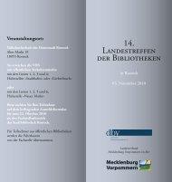 Programm - Deutscher Bibliotheksverband e.V.