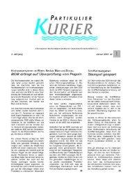 KURIER - Bundesverband der Deutschen Binnenschiffahrt