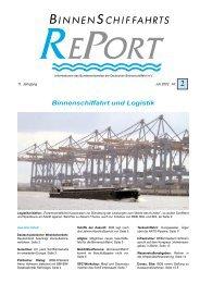 Binnenschiffahrt und Logistik  - Bundesverband der Deutschen ...