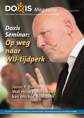 Doxis Magazine Zomer 2017