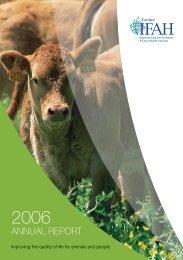 IFAH-Europe annual report 2006 - Bundesverband für Tiergesundheit
