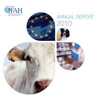 IFAH-EUROPE AnnUAl REPORt 2010 - Bundesverband für ...