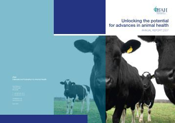 Unlocking the potential for advances in animal health - IFAH