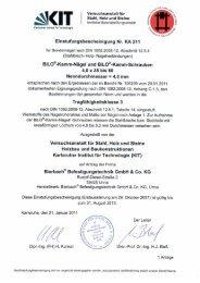 BiLO-Kamm-Nägel - BiERBACH GmbH & Co. KG Befestigungstechnik