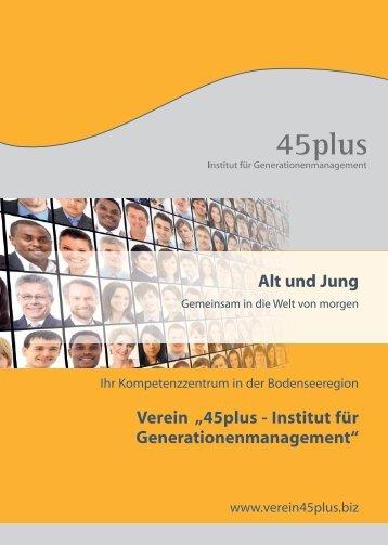 Broschüre 45plus April 2018
