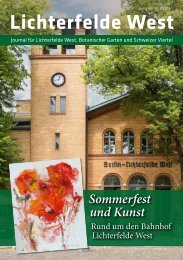 Lichterfelde West Journal Jun/Jul 2018