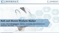 Bath and Shower Products Market, Bath and Shower Products Market Growth, Bath and Shower Products Marke Size