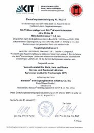 BiLO-Kamm-Schrauben - BiERBACH GmbH & Co. KG ...