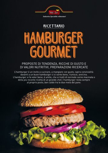 Menu' | Hamburger Gourmet