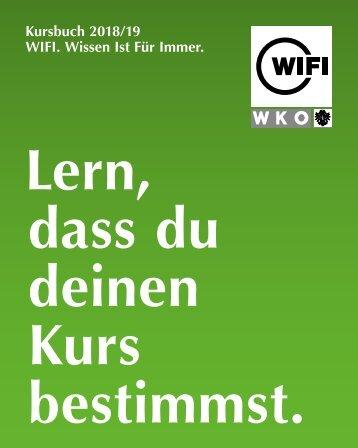 WIFI Tirol Kursbuch 2018/19