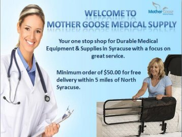 Buy Home Medical Accessories in Syracuse at Reasonable Prices