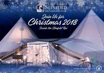 Slinfold Christmas Mailer 2018 Flipbook Version