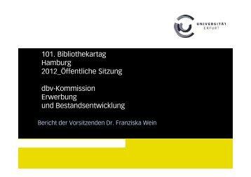 neu - Deutscher Bibliotheksverband e.V.