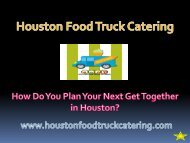 How Do You Plan Your Next Get Together in Houston