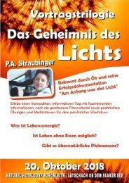 Vortragstrilogie - Das Geheimnis des Lichts