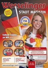 Wesselinger Stadt Magazin Mai 2018