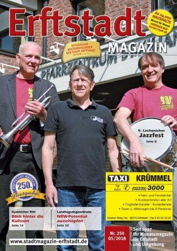 Erftstadt Magazin Mai 2018