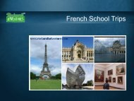 Book French School Trips
