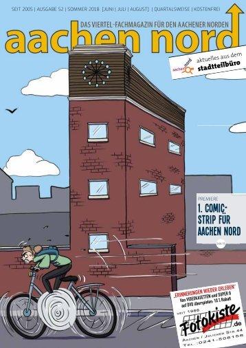 Aachen Nord Viertelmagazin 52 – Sommer 2018