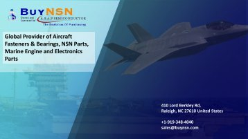 BuyNSN – Largest Aviation, NSN Parts and Marine Parts Purchasing Platform