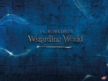 Präsentation zu Wizarding World