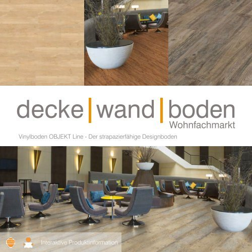 dwb Produktinformation Corpet VinylBoden OBJEKT Line Sortiment