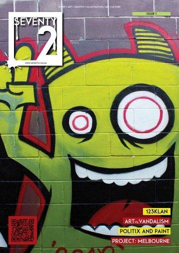 Street Art Magazine Concept
