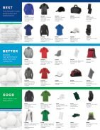 Golf Apparel & Accessories Guide - Page 2