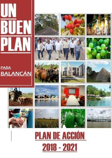 PLAN DE GOBIERNO 2018 - 2021