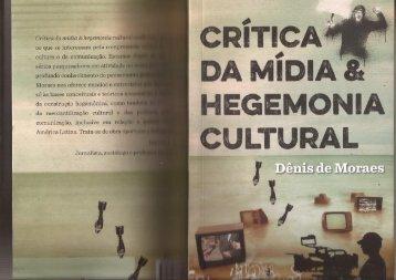 Críitica de Mídia e Hegemonia Cultural Parte II
