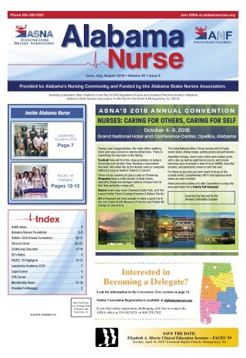 Alabama Nurse - June 2018
