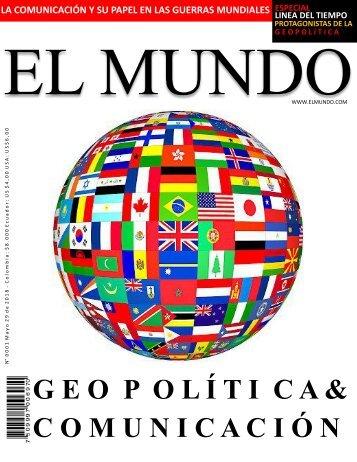 REVISTA DIGITAL GEOPOLITICA PUBLICAR
