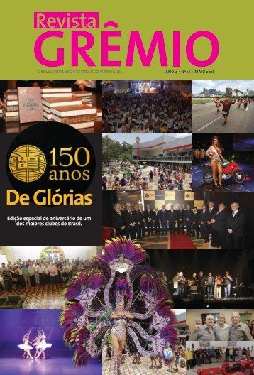 150 anos de glórias - maio de 2018