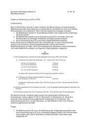 Fragen zur Evaluierung zu § 52 a UrhG - Deutscher ...