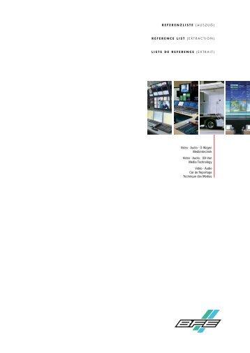 Video · Audio - BFE Studio- und Medien