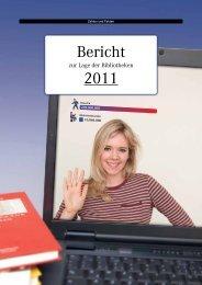 Bericht zur Lage der Bibliotheken 2011 - Deutscher ...