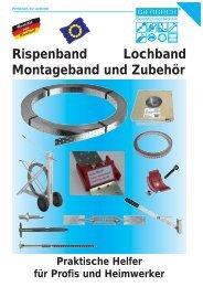 mit Handschutz - BiERBACH GmbH & Co. KG Befestigungstechnik