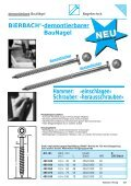 Nagel- technik Fastener + Fixing - BiERBACH GmbH & Co. KG ... - Page 7